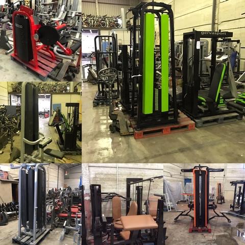 Maquinas de gimnasio profesionales segunda mano