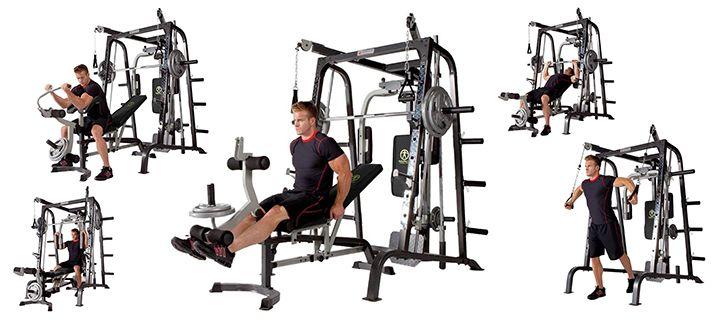 Maquinas de musculación segunda mano profesionales