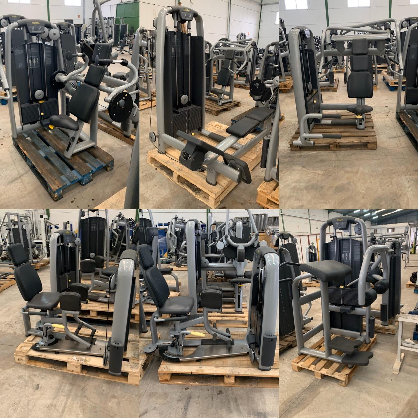 Lote maquinas gimnasio segunda mano
