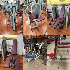 lote de máquinas de musculación Adam sport y Precor de ocasión