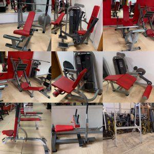 stock de máquinas Adan sport y Precor
