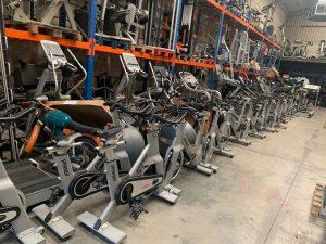 bicicletas para el gimnasio o para casa de segunda mano
