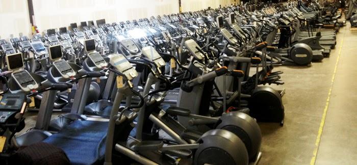 Máquinas de gimnasio reacondicionadas