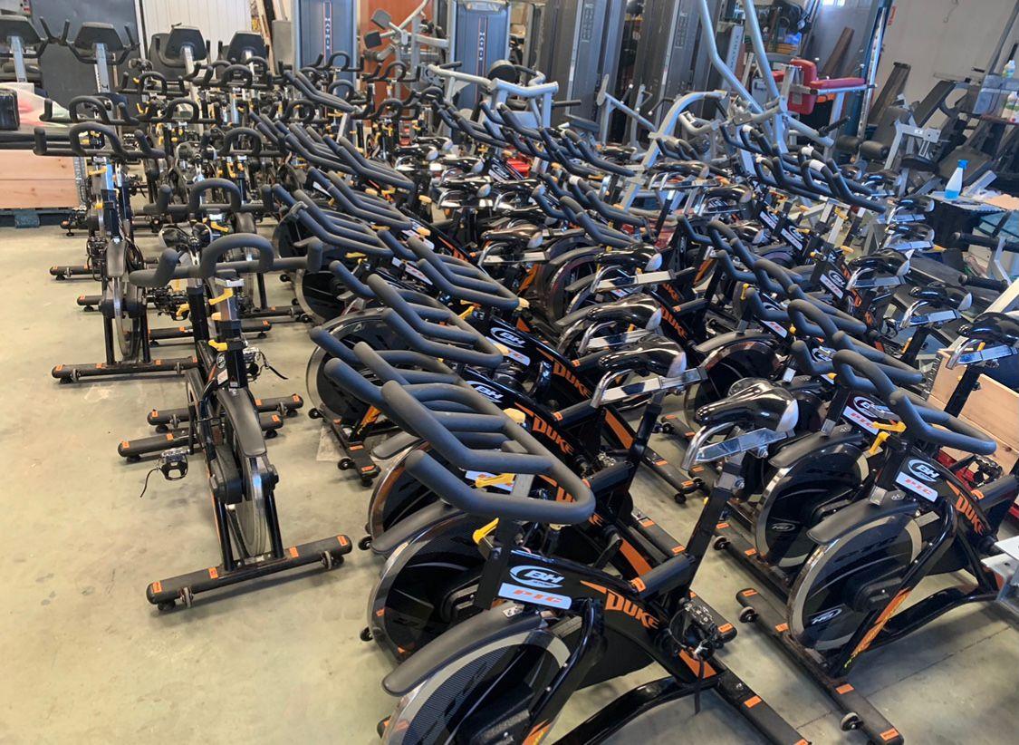Comprar bicicletas para el gimnasio reacondicionadas BH Duke