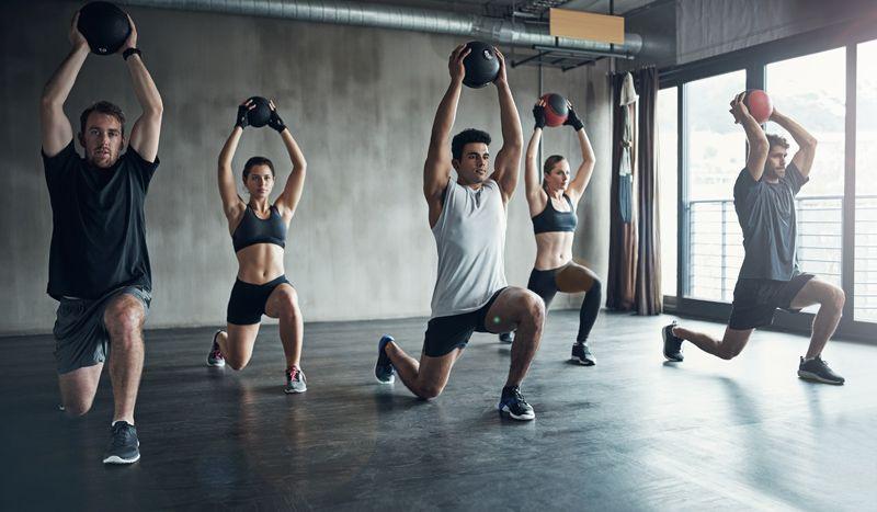 6 ejercicios de gimnasio para fuerza desarrollar